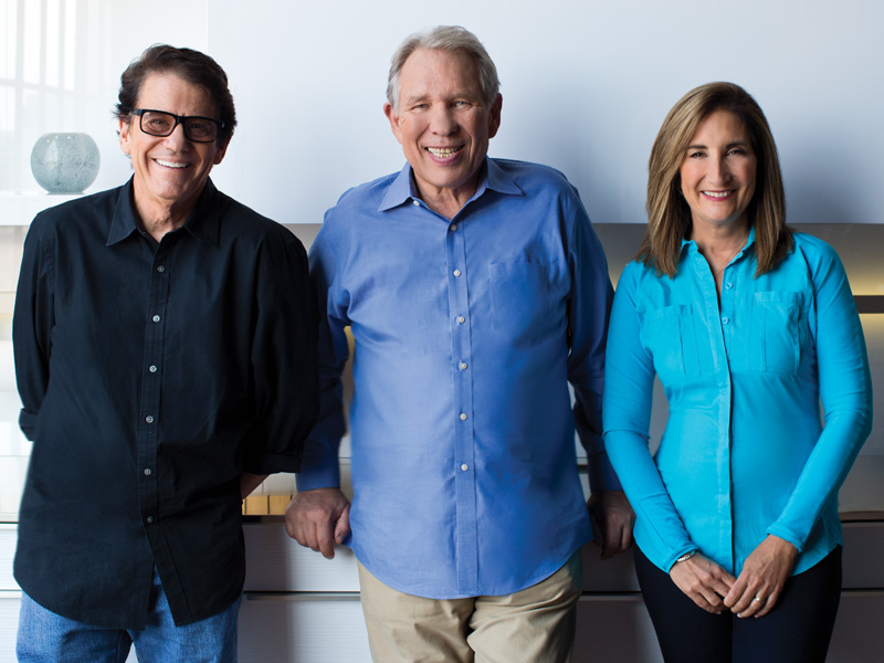 Anson Williams, Bob Warden, Mona Dolgov
