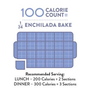 Perfect Portion Enchilada Bake