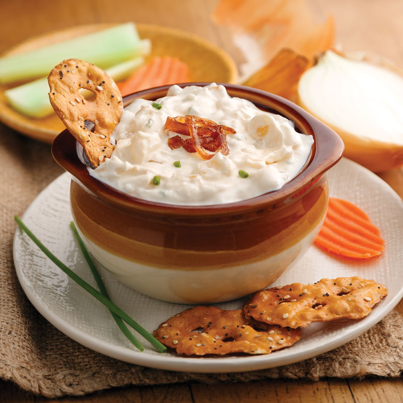 Perfect Portion French Onion Dip
