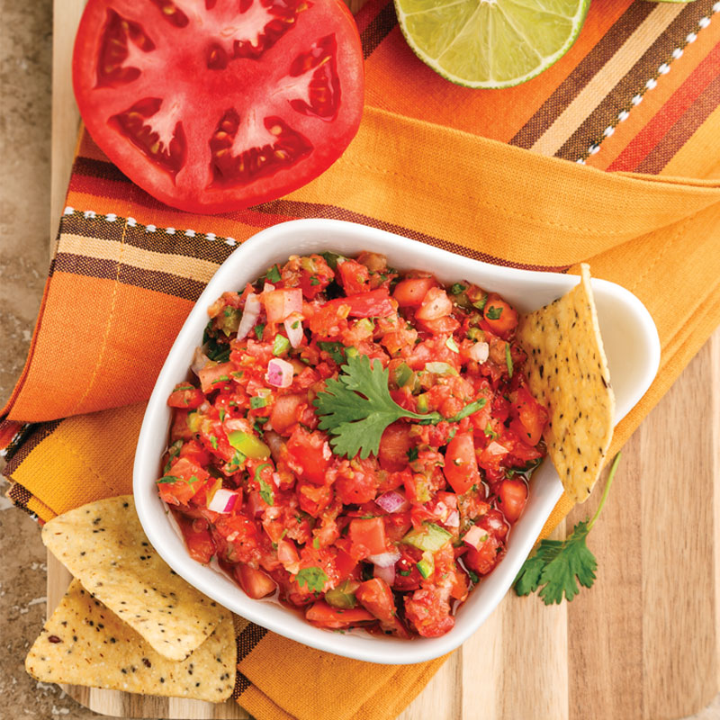 Perfect Portion Restaurant-Style Salsa