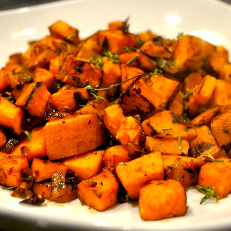 Perfect Portion Sweet Potato Hash
