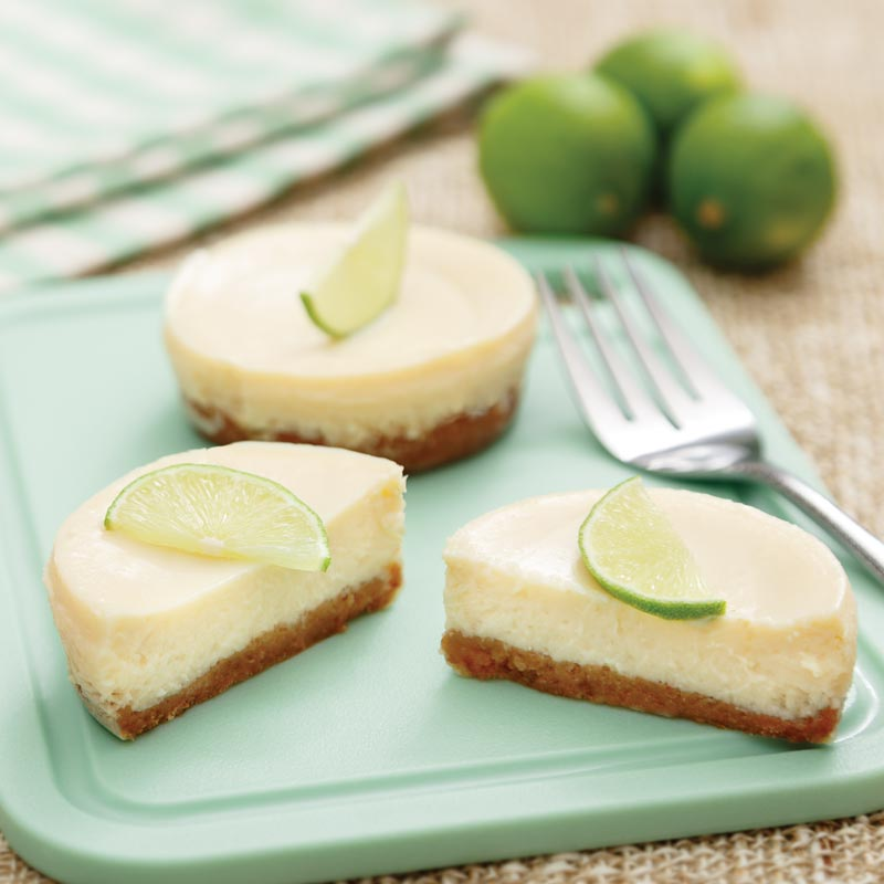 Perfect Portion Key Lime Pie Tarts