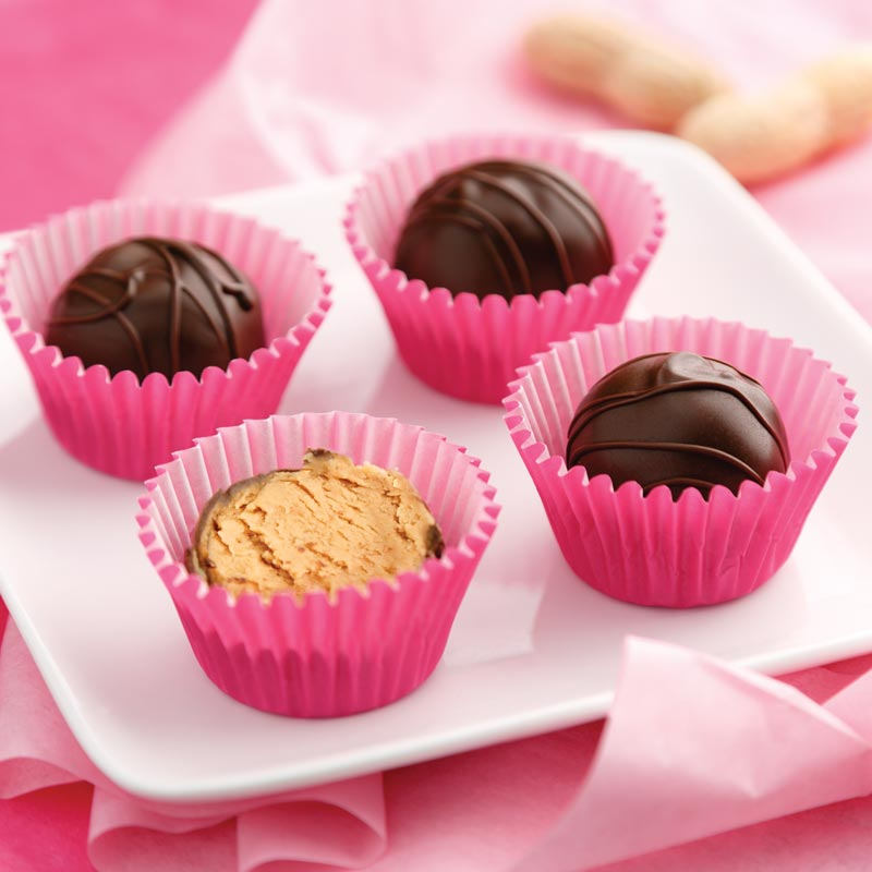 Perfect Portion Peanut Butter Truffles