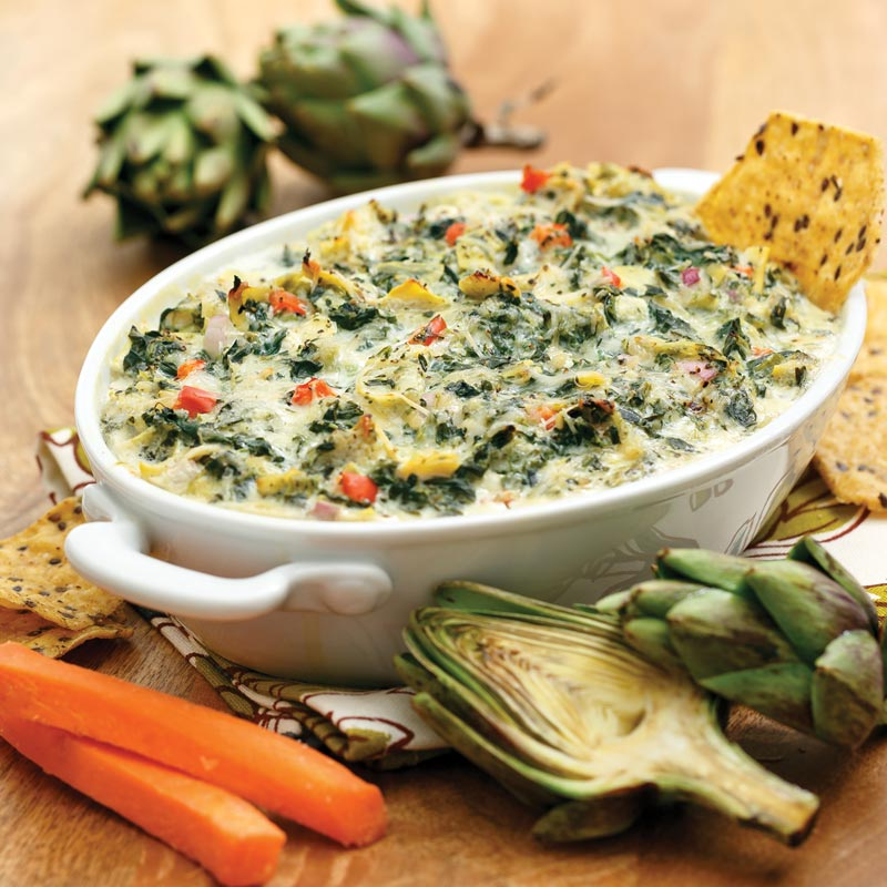 Perfect Portion Spinach & Artichoke Dip