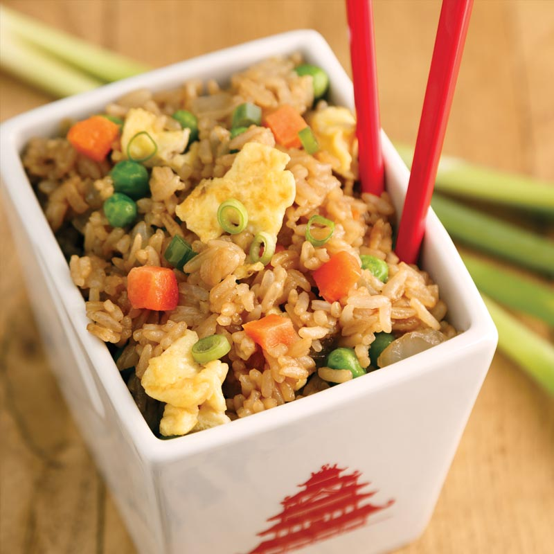 Perfect Portion Vegetable Fried Rice