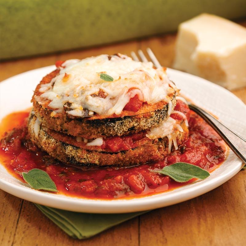 Eggplant Lasagna Bake