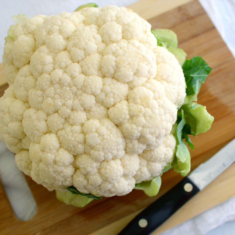 Perfect Portion Smashed Cauliflower