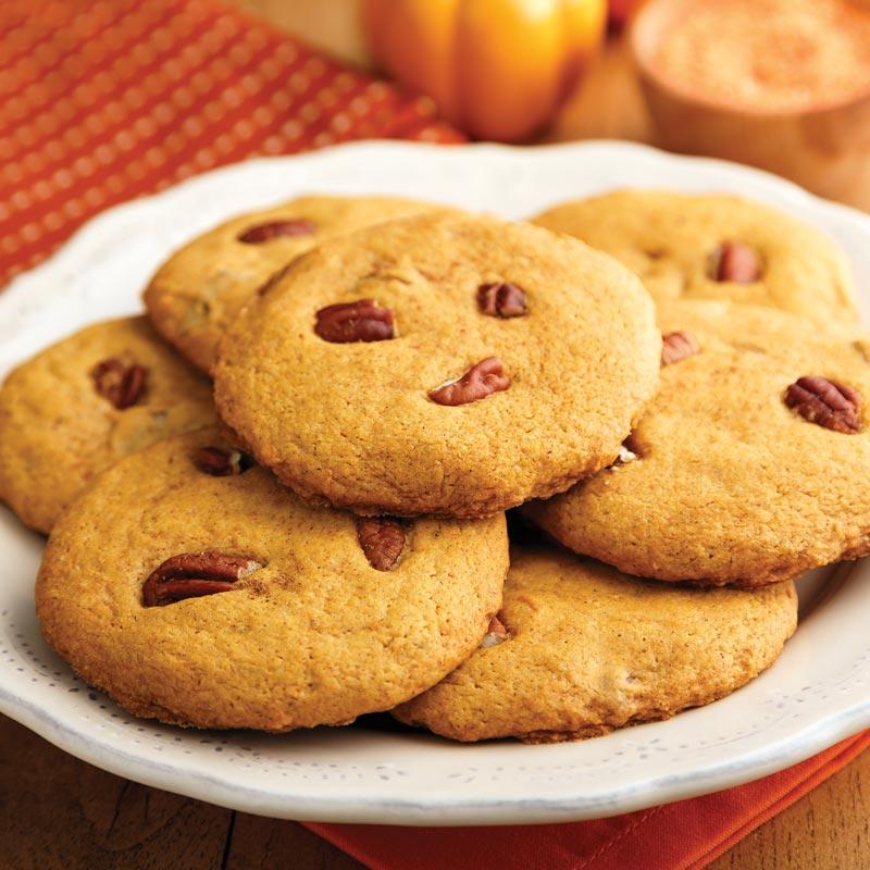 Perfect Portion Pumpkin Pie Cookies