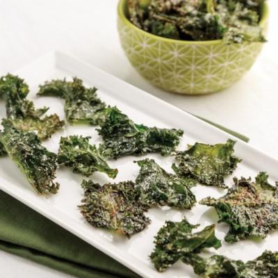 Perfect Portion Crispy Kale Chips